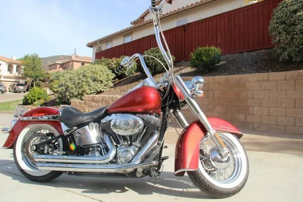 Harley Softails For Sale Ca >> Apes On Heritage Softails - Brick7 Motorcycle