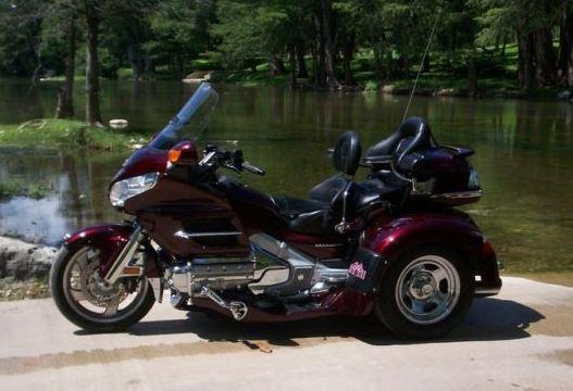 2006 Honda GL1800P6 Goldwing Trike in , TX