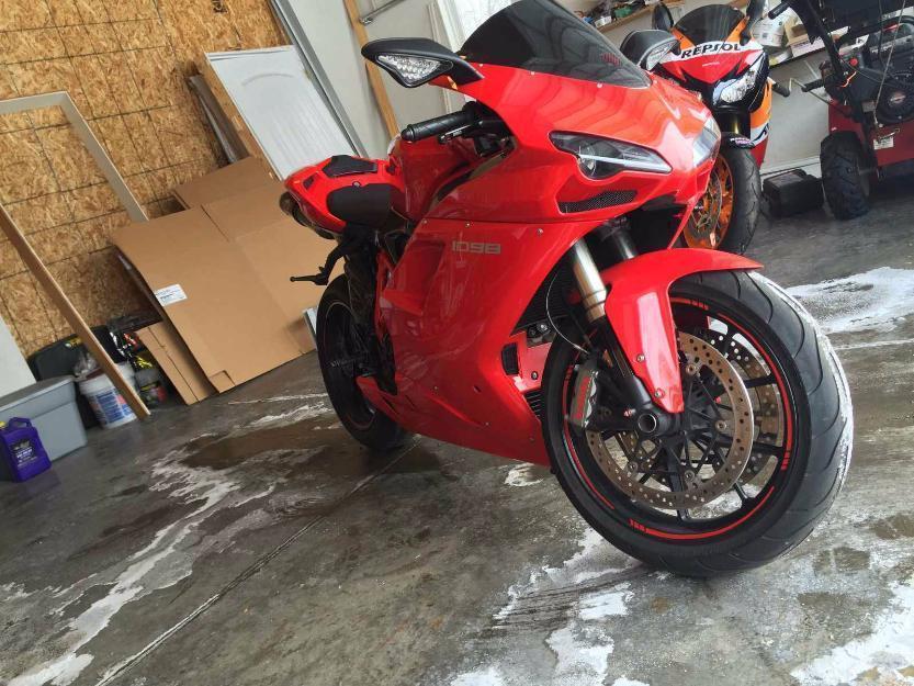 2008 Ducati 1098 Superbike