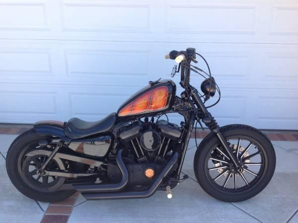 2010 Harley Davidson Sportster XL 883N Iron 883 in , CA