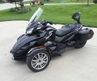 2013 Can-Am Spyder in  City, KS