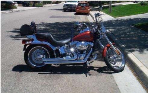 2007 Harley Davidson FXSTC Softail Custom in , CA