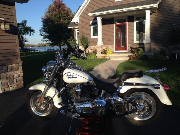2000 Harley Davidson FLSTF Fat Boy in  City, MI