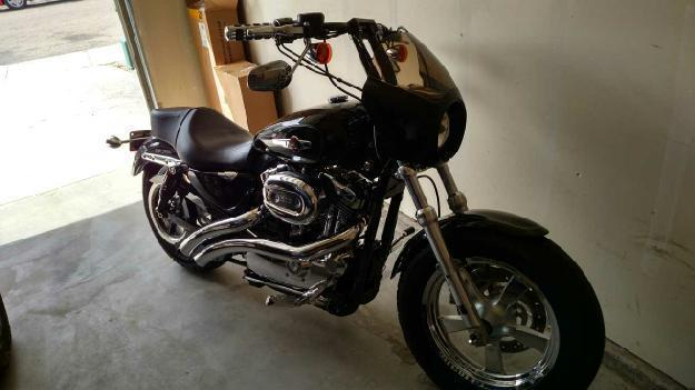 2011 Harley Davidson XL1200C Sportster Custom in Merdian, ID