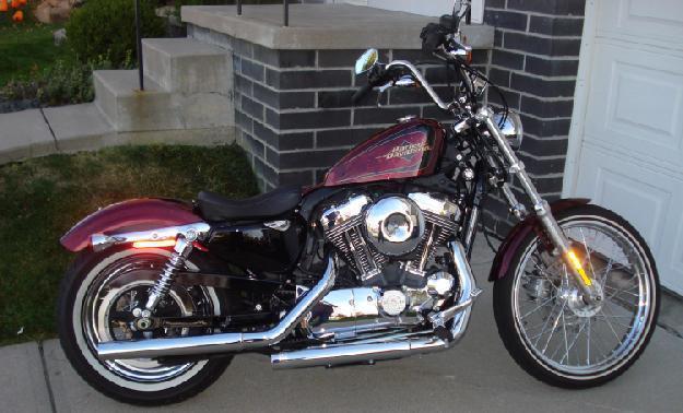 2012 Harley Davidson Sportster 72