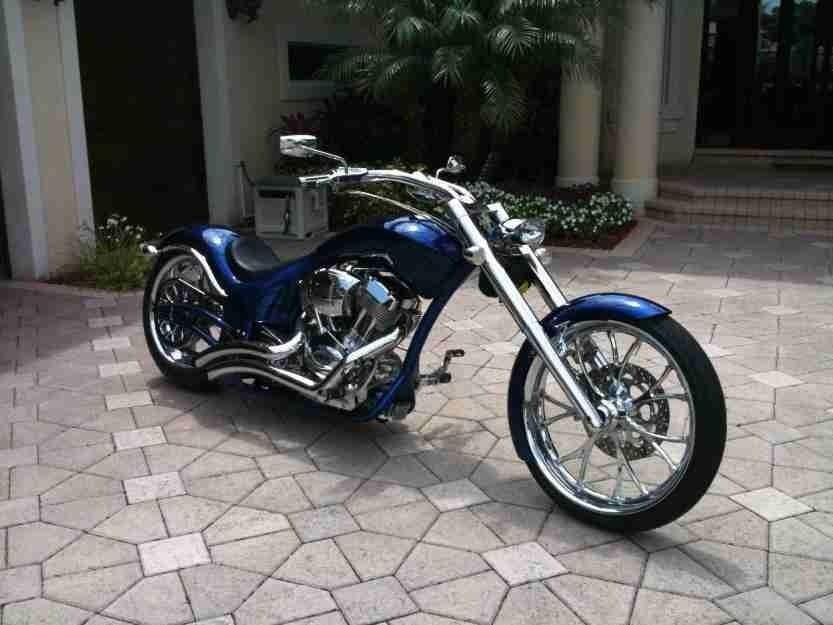 2009 Big Dog Wolf Motorcycle