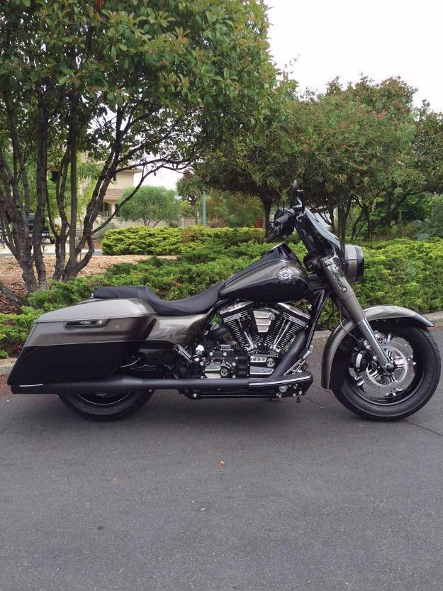 2014 harley davidson cvo road king custom