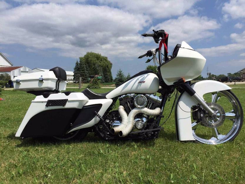 2010 HarleyDavidson Touring custom harley road glide bagger