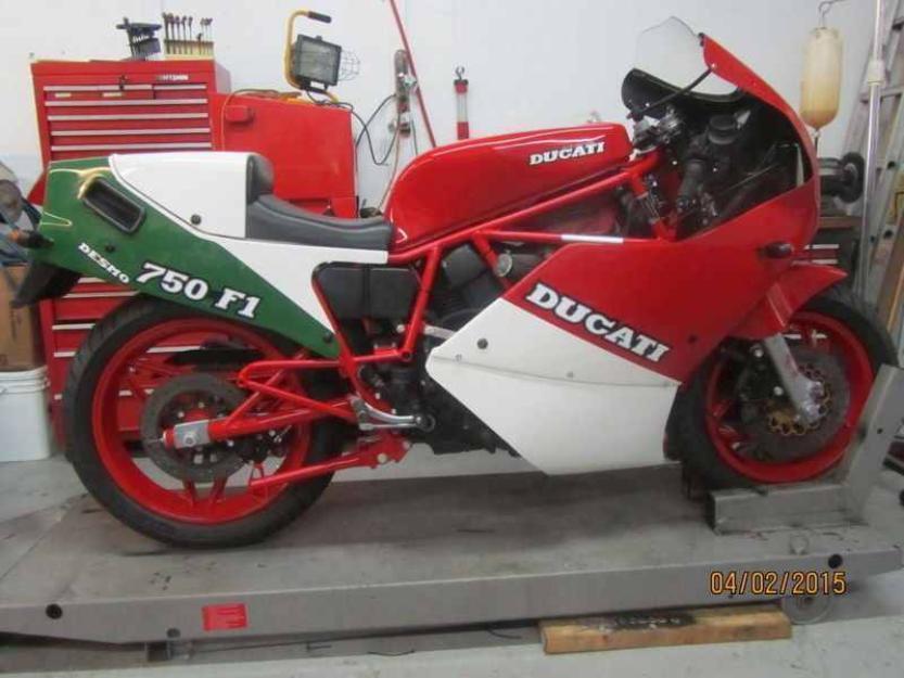 1987 Ducati Superbike F1 750cc