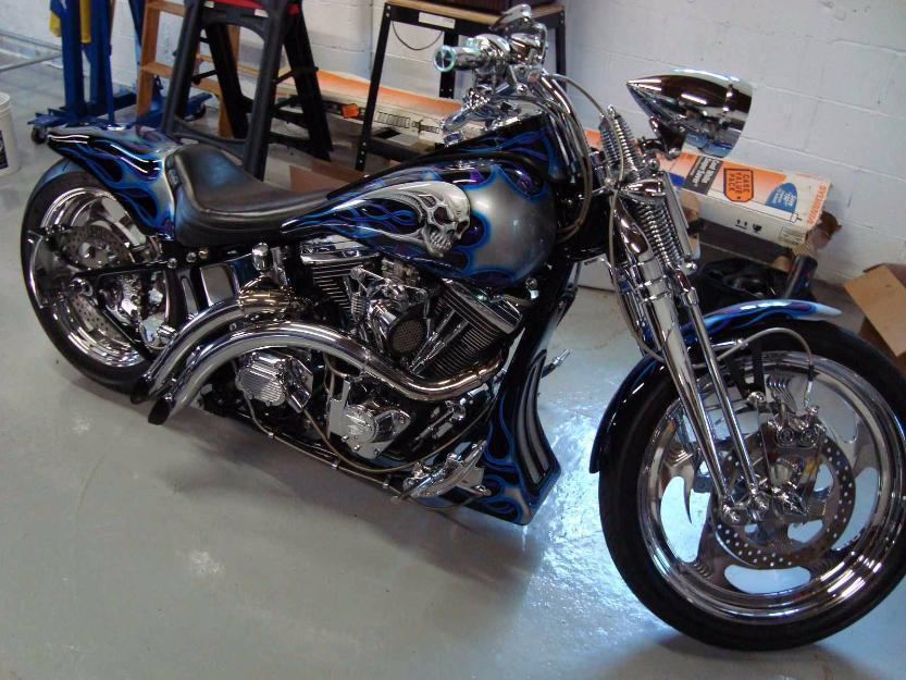 1999 Harley Davidson Springer FXSTS Custom Motorcycle