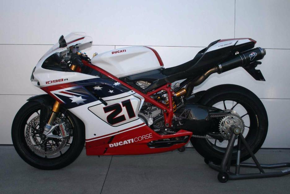 2009 ducati superbike 1098r bayliss le