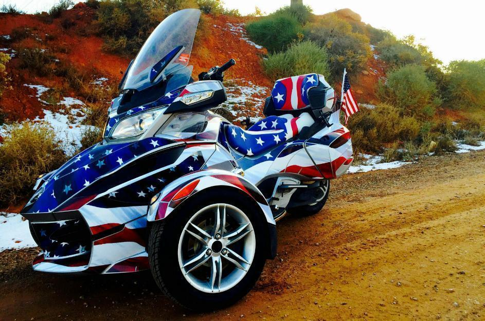 2010 can am spyder rtse5 usa