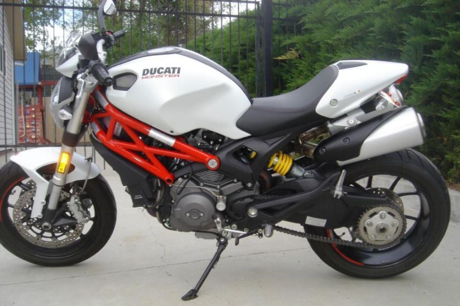 2011 Ducati Monster 796 Pearl White