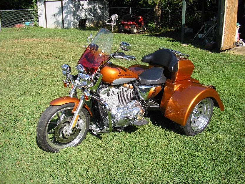 2014 HarleyDavidson Sportster Trike