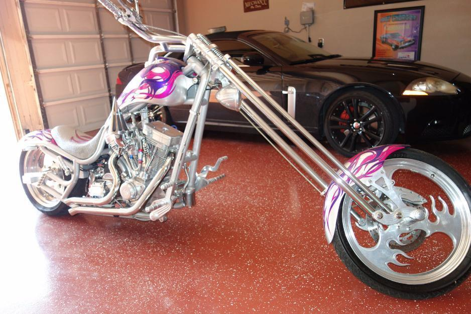 2002 Bourget Python MT Chopper Custom